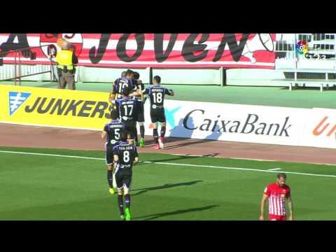 Resumen de UD Almería vs Real Valladolid (0-3)