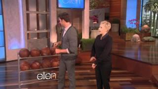 Ellen Shoots Hoops with John Krasinski