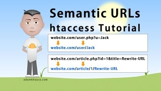 Semantic URL htaccess Tutorial SEO Friendly Clean Links Rewrite