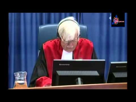 Ratko Mladic genocide charges confirmed at The Hague trial   euronews, world news