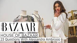 Baixar 23 Questions With Alessandra Ambrosio | House Of Bazaar 2018 | Harper's Bazaar Arabia