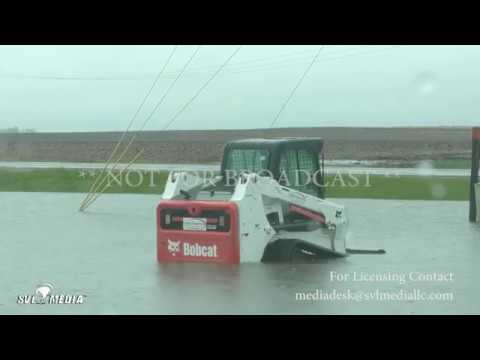 Kansas IL to Terre Haute IN 4 30 2017 Flash Flooding Creeks and ditches