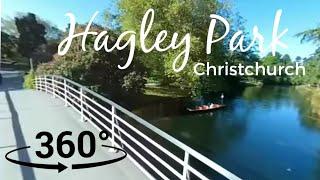 New Zealand in 360° VR   Hagley Park   Christchurch