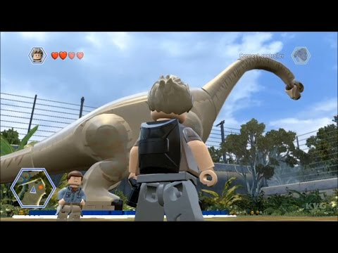 LEGO Jurassic World - All Small, Medium & Large Dinosaurs in