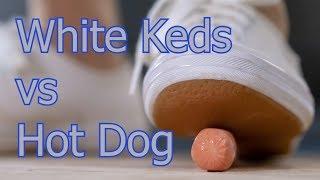 White Keds vs Hot Dog Crush