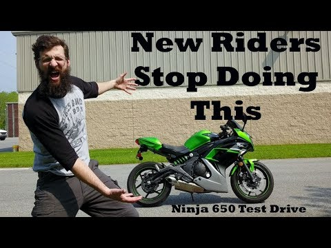 Sean rides a 2016 Ninja 650 and gives his opinion