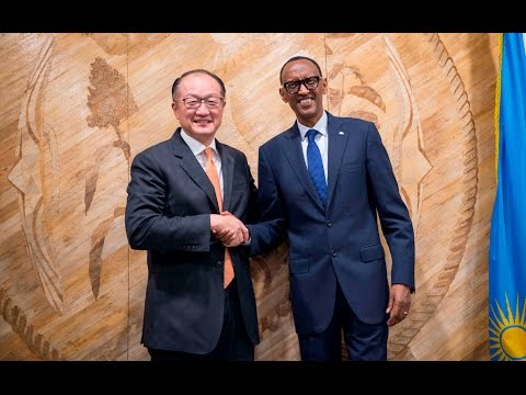 HIGHLIGHTS OF WORLD BANK PRESIDENT'S VISIT TO RWANDA