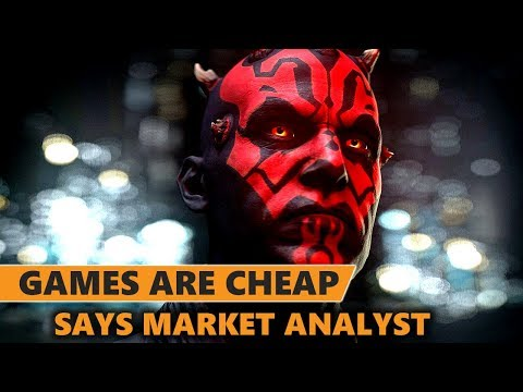 Analyst Claims Games are Actually Cheap, Lootboxes and Microtransactions are Fine