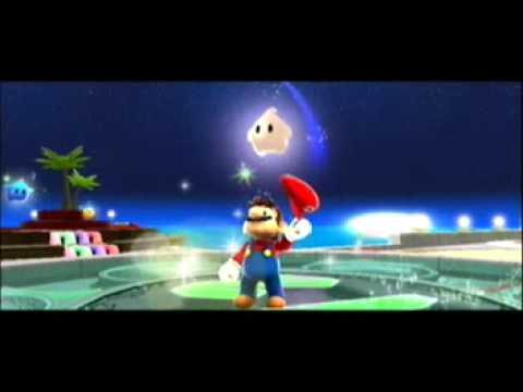 Super Mario Galaxy - Secret galaxy! Green Star Planet ...