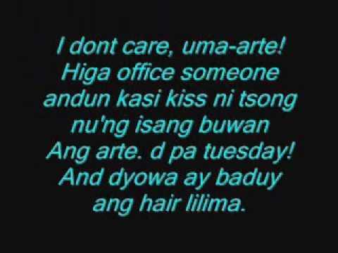 I don't Care with tagalog lyrics - 2ne1