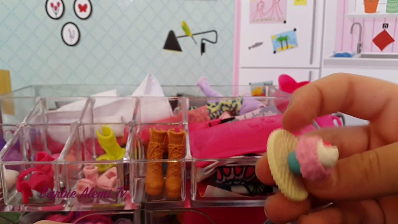 Barbie Organizer Dıy L How I Organize My Barbie Clothes