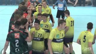 Finale B Jugend Füchse vs  KronauÖstringen im Re Live Sportd