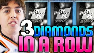 3 DIAMOND PULLS IN A ROW! NBA 2K16 PACK AND PLAY