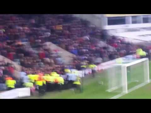 Plymouth Argyle vs Exeter City Final whistle trouble