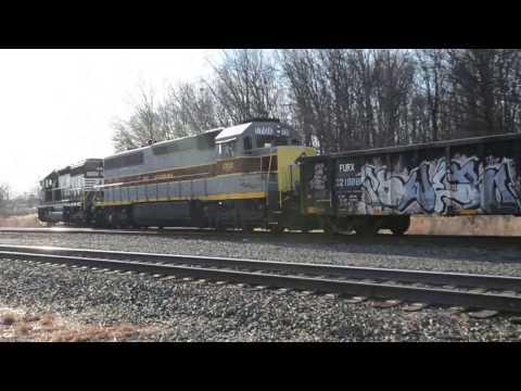 Snow And Sun, Railfanning, Bridgewater - Port Reading, NJ, Jan. 14-15, 2016