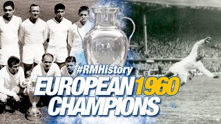 This is how Real Madrid won the fifth European Cup  (18/05/1960)