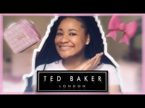 Ted Baker Beau Luggage Unboxing 🎀