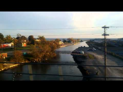 VIA Rail from Toronto to Ottawa: Port Hope