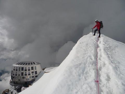 ascension du mont blanc le 15 juin 2017 HD ( voie du gouter )