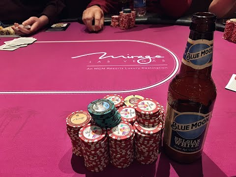Super Fun Poker and Many Beers at the Mirage