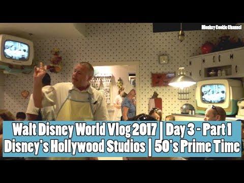 Walt Disney World Vlog | Day 3 | Hollywood Studios and 50's Prime Time