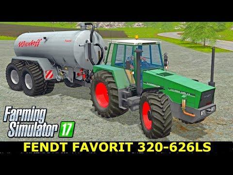 Fendt Favorit 620 - 626LS Farming Simulator 17 Mods