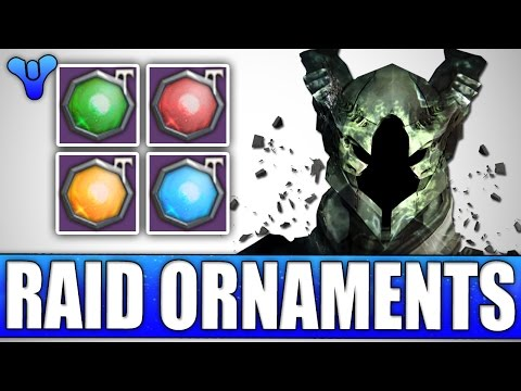 Destiny: New Raid Ornaments & Gear! 1st Look - Deathsingers Gaze & More!