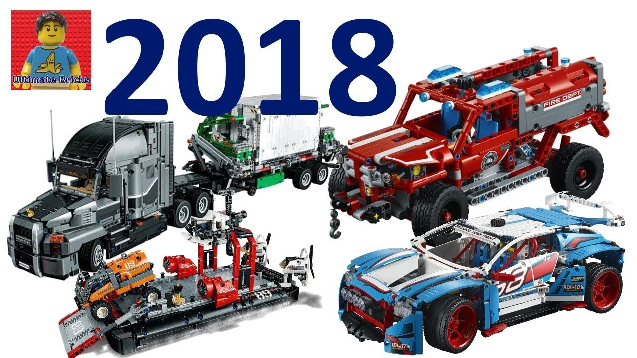 more new 2018 lego technic official hd images my thoughts youtube. Black Bedroom Furniture Sets. Home Design Ideas