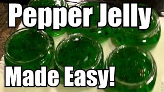 Recipe: Jalapeno Pepper Jelly, Easy How To!