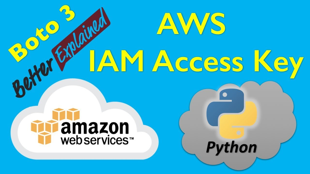 11 AWS Python Tutorial- Creating IAM Access Keys for a User