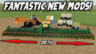 FANTASTIC NEW MODS Farming Simulator 19 PS4 FS19 (Review) 13th August 2020.