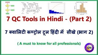 7 Quality Control Tools- (Part 2) (Hindi) - Video from 'QHI'