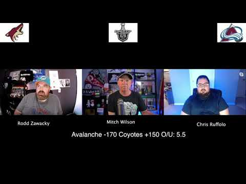 Colorado Avalanche vs Phoenix Coyotes 8/12/20 NHL Pick and Prediction Stanley Cup Playoffs