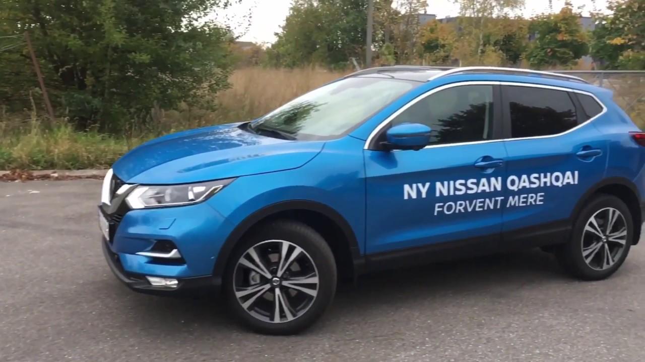 NEW 2018 - Nissan Qashqai 1.5 dCi 120HP - VERY BLUE - YouTube