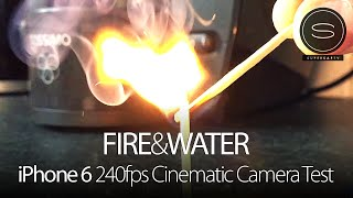 iPhone 6/6 Plus Slow Motion 240fps Cinematic Camera Test