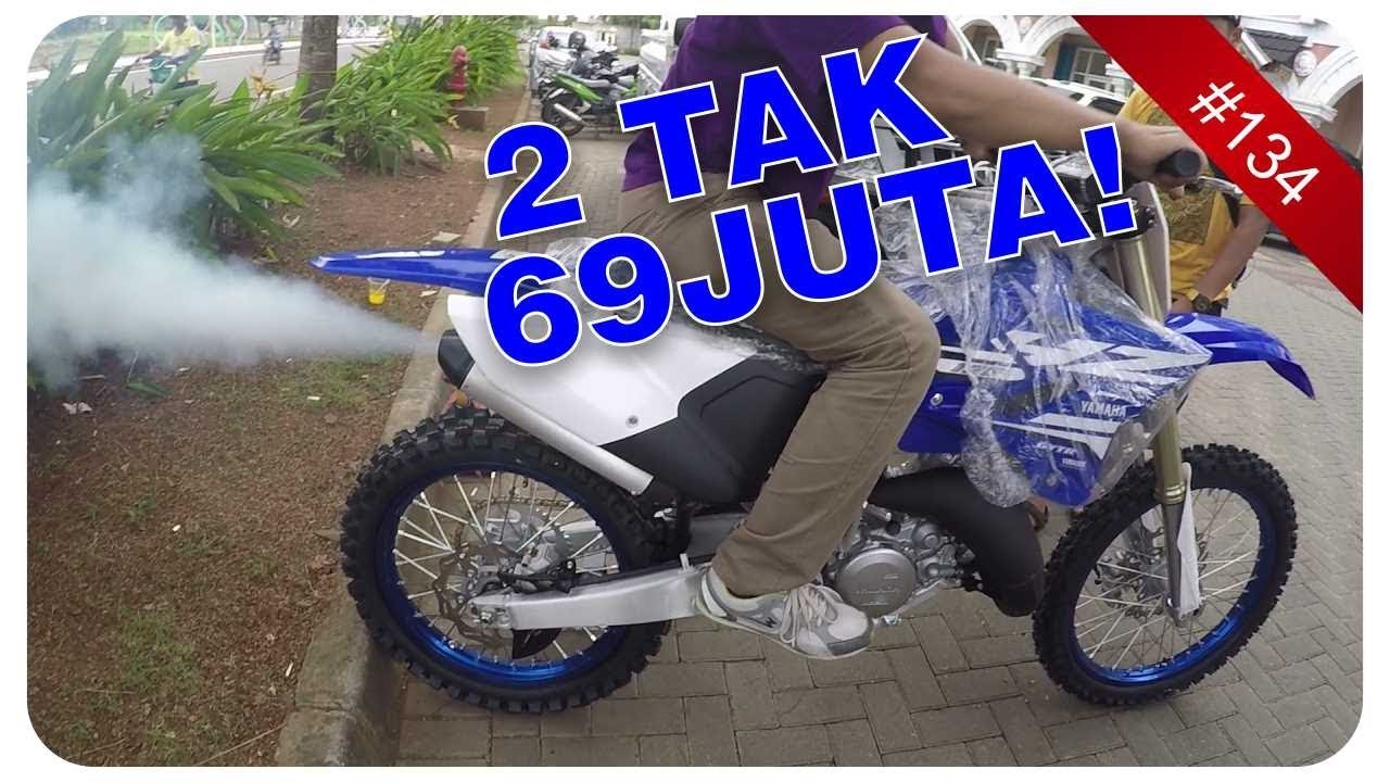 Beli Motor Yz 125 2 Tak Sound Test Yamaha Cbu Indonesia Youtube