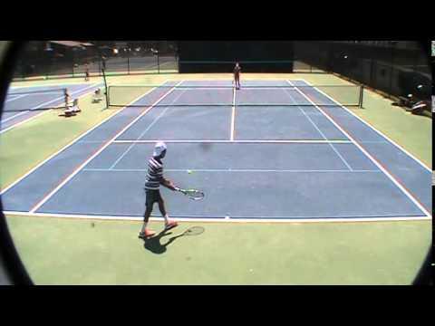 Daniel Vincent Tennis Match