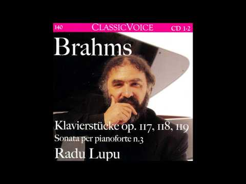 J. Brahms 2 Rhapsodies for Piano Op.79, Radu Lupu