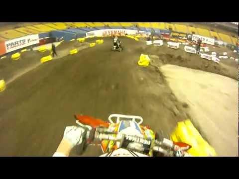 Montreal Supercross ATV Pro Practice GoPro