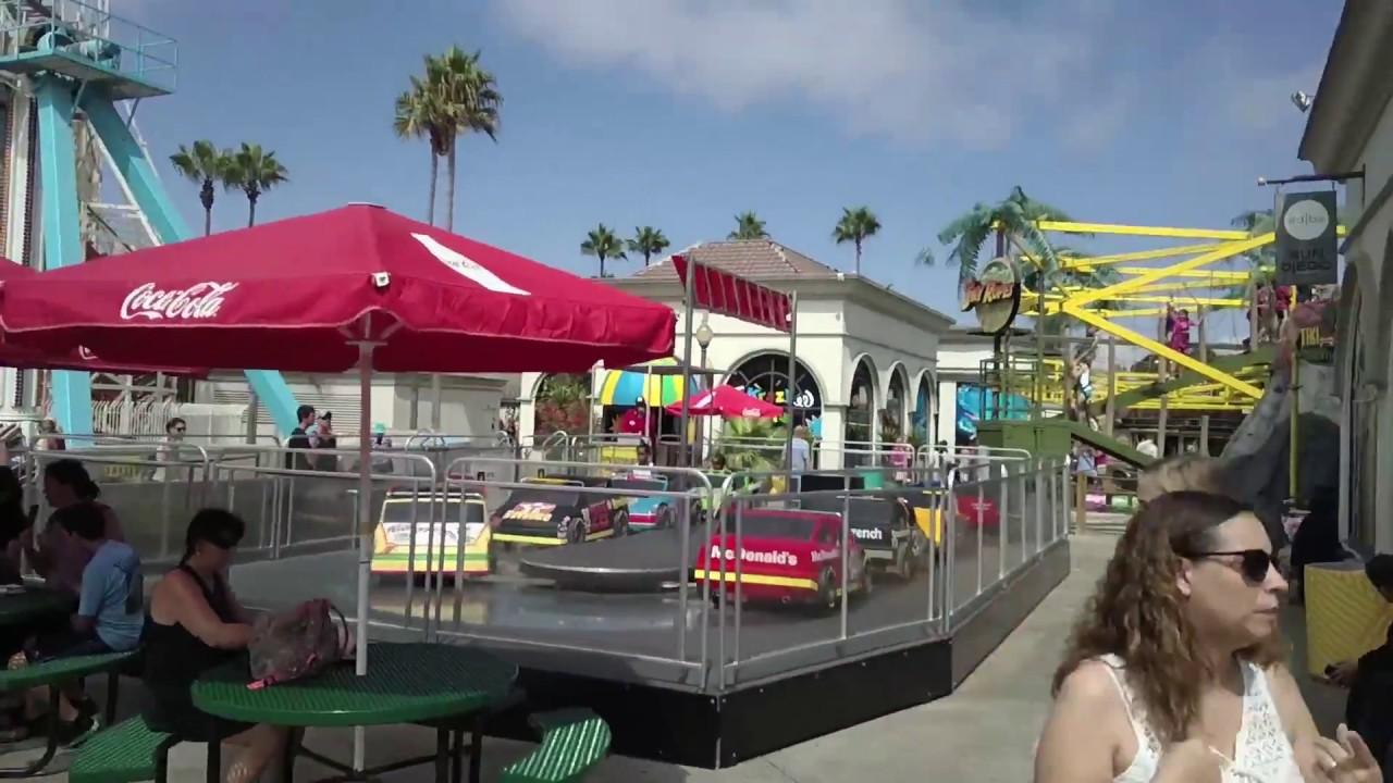 Inside Belmont Park Amusement Park San Diego California