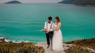 Elopement Wedding Vívian & Pedro - Arraial do Cabo, RJ