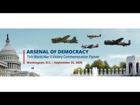 2020 Arsenal Of Democracy Flyover - Live