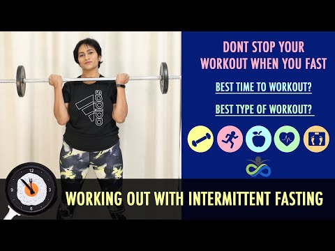 Working Out Fasting | Intermittent Fasting Workout | Exercise Strategy