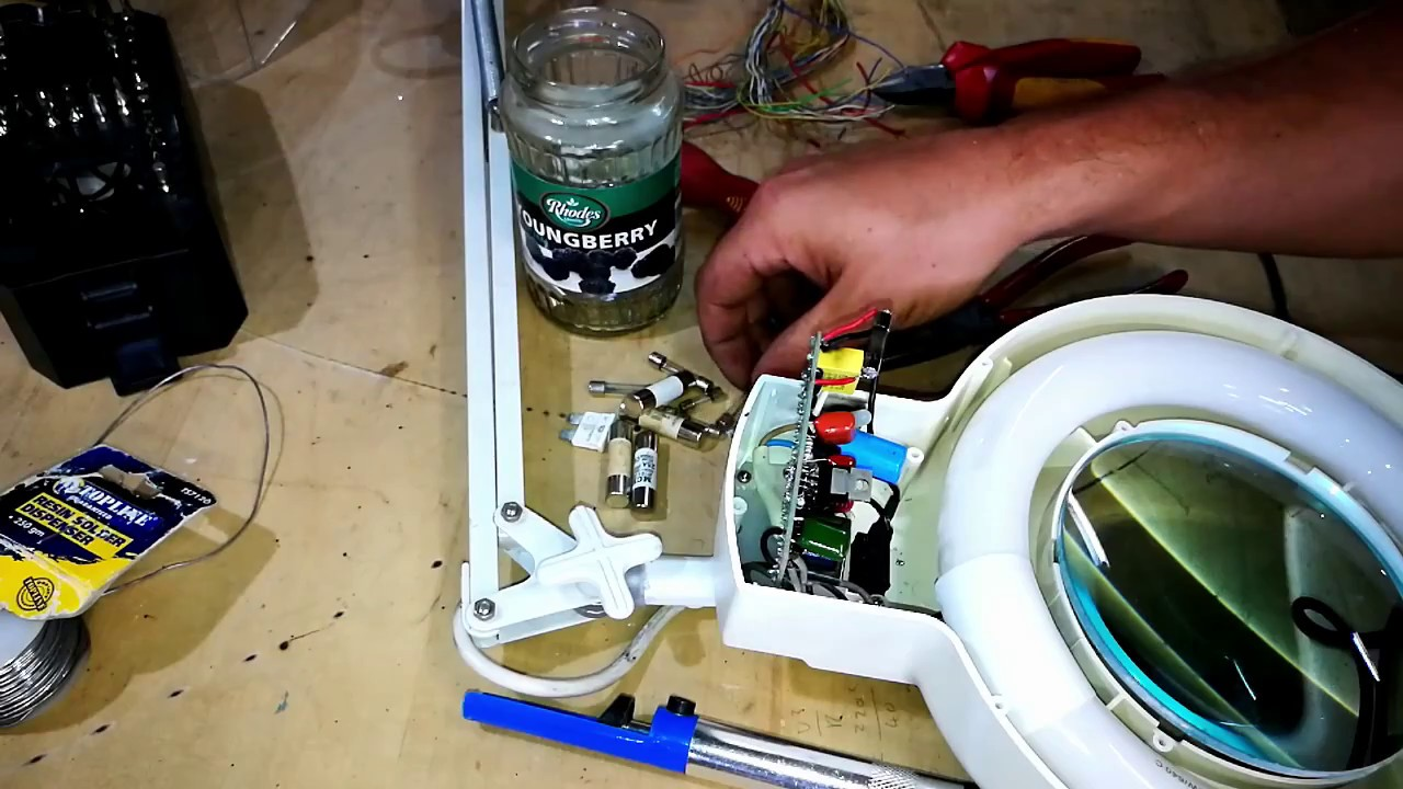 Magnifier Lamp Repair. (8066D) - YouTube on lamp parts diagram, lamp schematic, lamp remote control, simple switch panel wire diagram, lamp plug diagram, lighting diagram, light socket diagram, light bulb circuit diagram, light relay wire diagram, lamp specifications, lamp repair diagram, lamp wire, lamp hardware diagram, lamp switch, light switch diagram,