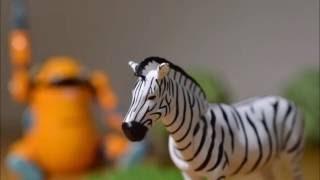 Азиатская Зебра [животное приключения, животные, рисунок