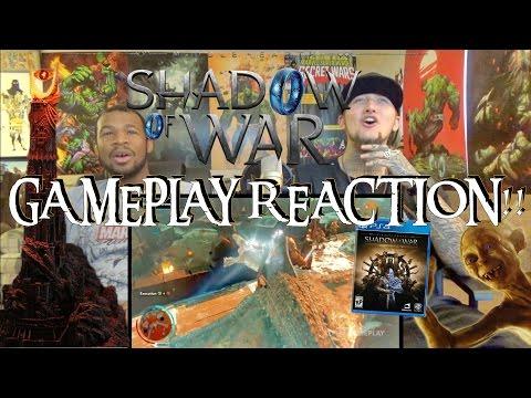 Shadow Of War Gameplay Walkthrough Reaction