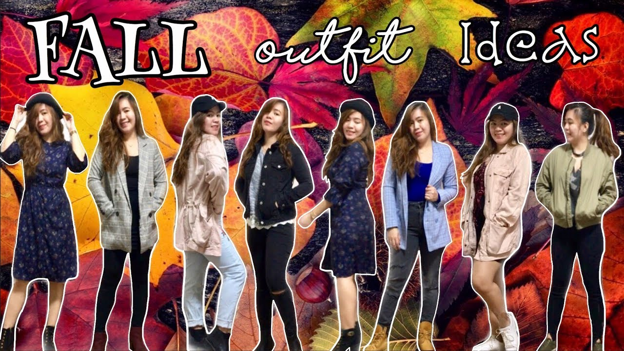 [VIDEO] - FALL OUTFIT IDEAS 2018 | What to wear in Japan during Autumn? 2