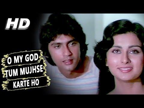O My God Tum Mujhse Karte Ho | Amit Kumar, Lata Mangeshkar | Romance 1983 Songs | Poonam Dhillon