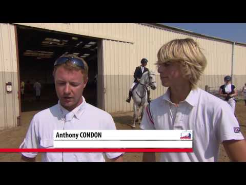 Showjumping  -  Dominic Webb and Anthony Condon talk about their horses
