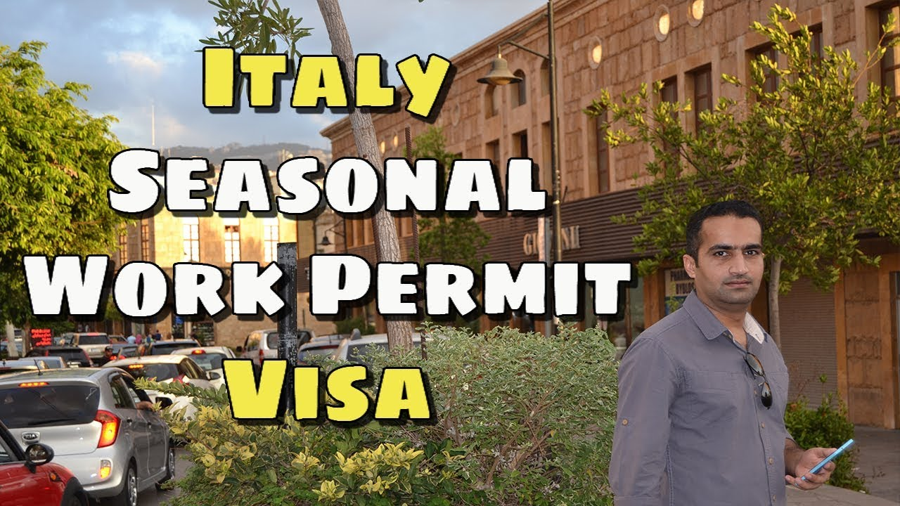 how to get a work visa in italy